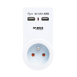 DUAL 2 X USB CHARGER