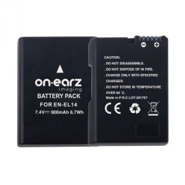 Replacement battery for NIKON EN-EL14