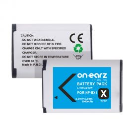 Replacement battery for SONY NP-BX1
